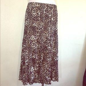 Xl Stretch Maxi Skirt